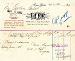 Receipt from LIFE to Ogden Goelet