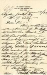Receipt from St. Mark's Church to Ogden Goelet