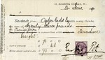 Receipt from Ernest George & Peto to Ogden Goelet