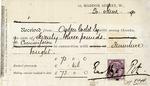 Receipt from Ernest George & Peto to Ogden Goelet