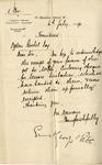 Letter from Ernest George & Peto to Ogden Goelet