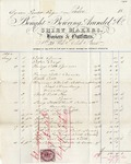 Invoice from Bowring, Arundel & Co. to Ogden Goelet