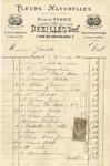 Invoice from Dezilles to Ogden Goelet