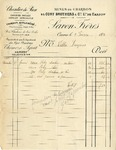 Invoice from Cory Brothers & Co. to Ogden Goelet