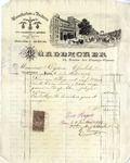 Invoice from Muhlbacher to Ogden Goelet