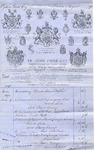 Invoice from Henry Poole & Co. to Ogden Goelet