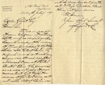 Letter from Gayford & Co. to Ogden Goelet