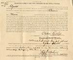 Declaration of Ownership of Ogden Goelet