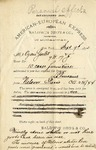Letter from Baldwin Bros & Co. to Ogden Goelet by Baldwin Bros & Co.