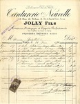 Invoice from Jolly Fils to Madame Goelet