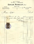 Invoice from Edgar Morgan to Madame Goelet