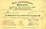 Receipt from William B. Dana Company to the Goelet Estates