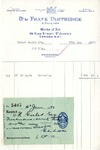 Receipt from Frank Partridge & Sons to Robert Goelet