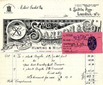 Receipt from Sandon & Co. to Robert Goelet by Sandon & Co.