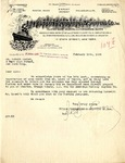 Letter from Hudson Forwarding & Shipping Co. to Robert Goelet