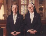 Sister Mary Jean Tobin, RSM and Sister Mary Eloise Tobin, RSM.
