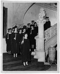Candlelight Procession, Christmas 1947