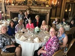 Susan Dunphy Lawlor '68 and classmates at Ochre Court