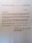 Diane Mazzari's acceptance letter