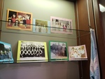 Reunion 2018 Exhibit, Photographs of groups of girls, basketball team, academic hood