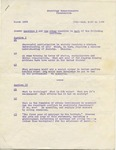 Sociology Comprehensive Exam, March 1968