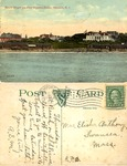 Beach Where the Four Hundred Bathe, Newport, R.I. by Abigail E. Manchester and The Valentine & Sons Publishing Co., Ltd.