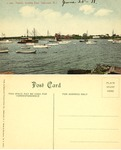 Harbor, looking East, Sakonnet, R. I. by Sakonnet Transportation Co. and Blanchard, Young, & Co.