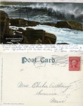 Surf at Easton's Point, Newport, R. I. by H. W. Anthony and H. Leighton Co.