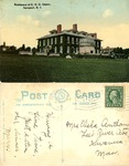 Residence of E. H. G. Slater, Newport, R. I. by Tichnor Bros., Inc.