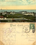 Bird's Eye View of Block Island, R. I. by A. C. Busselman & Co.