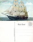 The Constellation Under Full Sail. Newport, R. I.