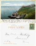 The Forty Steps, Cliff Walk, Newport, R. I. by Detroit Photographic Co.