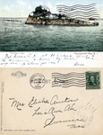 Pomham Light. Narragansett Bay, R. I. by Rhode Island News Company