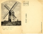 Old Windmill at Porstmouth, R. I. by Albertype Co.