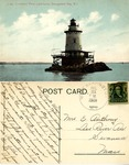 Conimicut Point Light-house, Narragansett Bay, R. I. by Blanchard, Young, & Co.