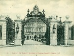 "Gates at ""The Breakers"", Residence of Cornelius Vanderbilt, Newport, R.I. by Blanchard, Young, & Co."