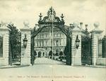 "Gates at ""The Breakers"", Residence of Cornelius Vanderbilt, Newport, R.I."