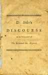 A Discourse on Saving Knowledge: Delivered at the Instalment of The Reverend Samuel Hopkins, April 11, 1770 by Ezra Stiles
