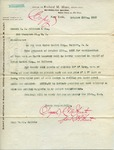 Letter from Richard M. Hunt to S. B. Althause & Co. (copy)