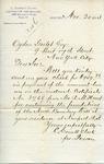 Letter from C. Everett Clark to Ogden Goelet