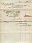 Receipt from C. Everett Clark to Ogden Goelet