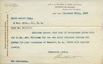 Letter from Richard M. Hunt to Ogden Goelet