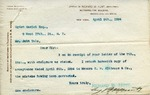 Letter from Richard M. Hunt to John Yale