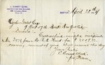 Letter from C. Everett Clark to Ogden Goelet