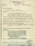 Letter from Richard M. Hunt to C. Everett Clark