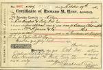 Receipt from Richard M. Hunt to Ogden Goelet 4407