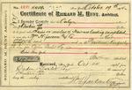 Receipt from Richard M. Hunt to Ogden Goelet 4409