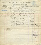 Receipt from Otis Brothers & Co. to Richard M. Hunt