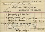 Receipt from William Angus to James Sinclair by William Angus