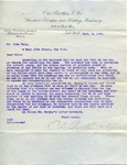 Letter from Otis Brothers & Co. to John Yale